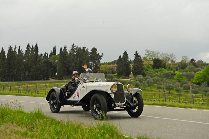 Patron – Casale Winner Crew of the 2019 Race on a Fiat 514 from 1931