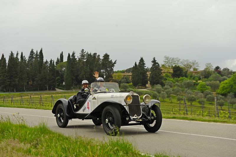 Patron – Casale equipaggio vincitore della Corsa 2019 su Fiat 514 del 1931